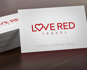 Love-Red-Travel business cards