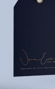 Nora-eve logo brand typography